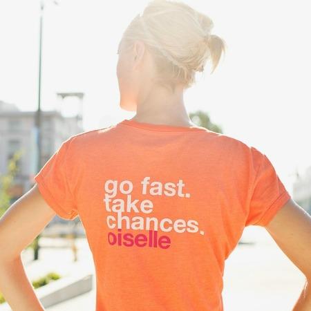 Go Fast Take Chances on Runner Leana
