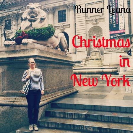 Christmas in New York via Runner Leana