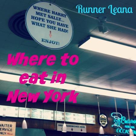 New York City Eats via Runner Leana