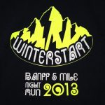 2013 Banff Winterstart 5 Miler Race Report