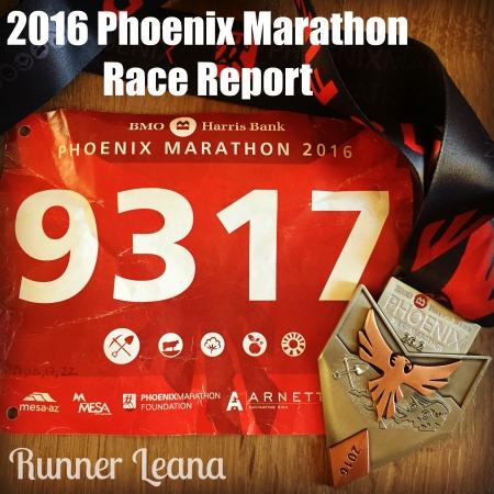 Phoenix Marathon Race Report