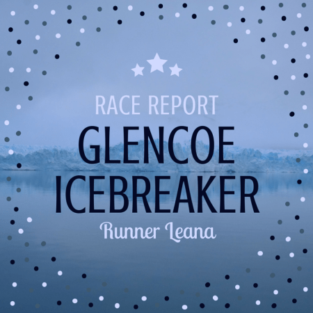 2016 Glencoe Icebreaker 10K Race Report