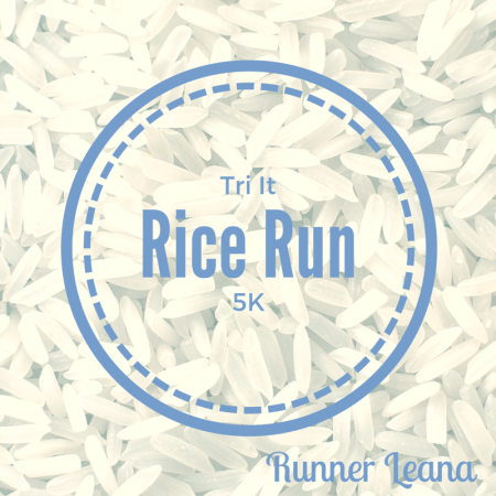 Rice Run 5K Race Report