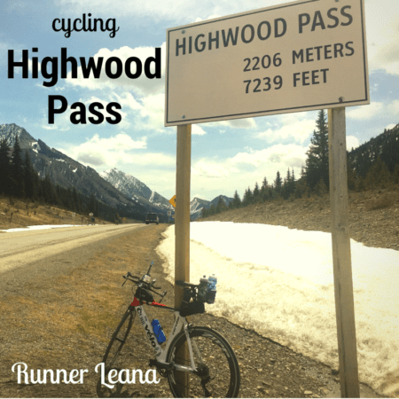 Highwood Pass Cycling