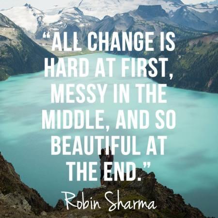change robin sharma