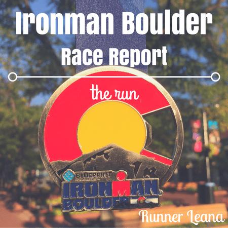 Ironman Boulder Race Report run