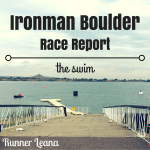 2016 Ironman Boulder Race Report: swim