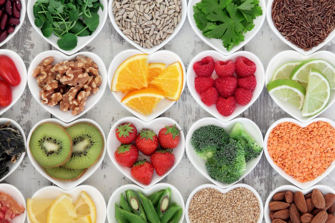 Vitamins and Minerals in food