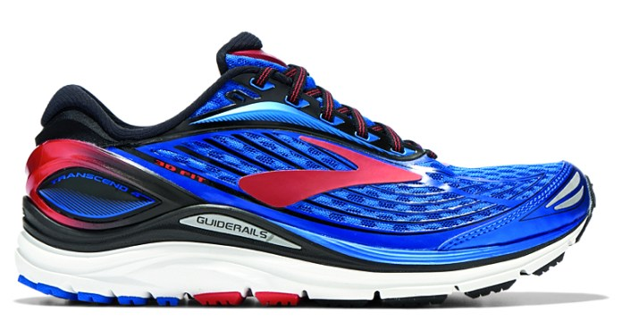 Test chaussures : Brooks Transcend 4