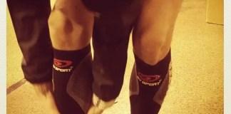 les manchons de compression utiles en sport, en particulier en running