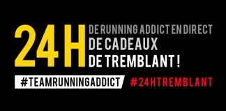 24h tremblant running addict