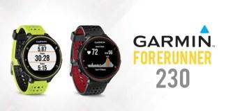 test de la montre garmin forerunner 230 et 235 montre running gps de qualité
