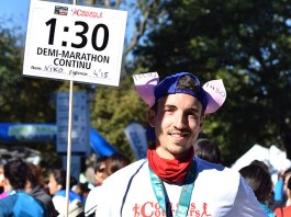 Demi-marathon de Montréal en mode lapin !