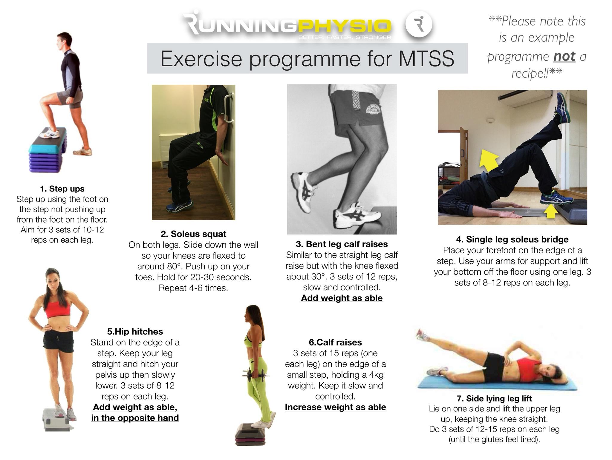 Exercises for Medial Tibial Stress Syndrome (AKA 'Shin ...