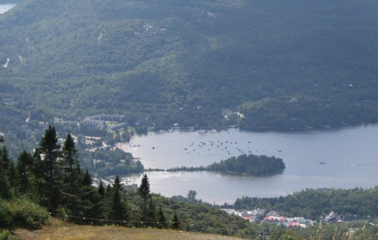 Ironman mont tremblant the course running a life for Lac miroir mont tremblant