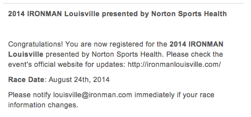 Last Chances and Lost Causes: 2014 Ironman Louisville