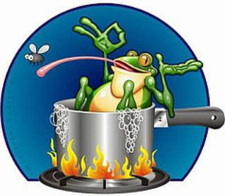 Boiling Frogs and Gradual Adaptation