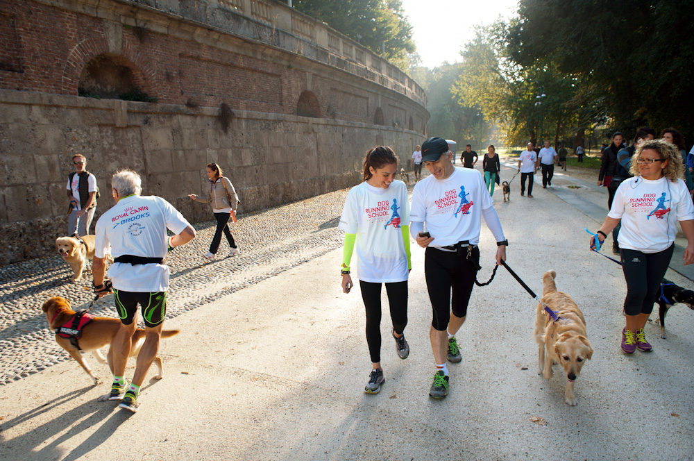 NEWS! Dog Running School con Royal Canin e Brooks, Correre col cane