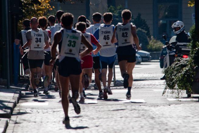 Correre per il gusto di correre. E basta