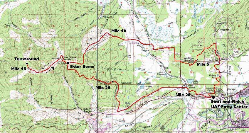 Equinox course map