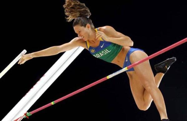 Fabiana Murer, embajadora del COI para los Juegos 3