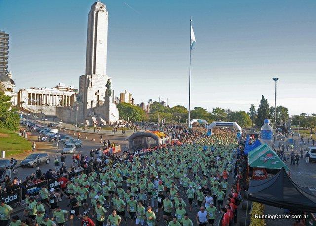 Largada Media Maratón de Rosario 2012 adidas