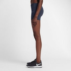 Short elastizado Nike Running Power Epic Lux para mujer color obsidiana (Calza - malla de 7,5cm)