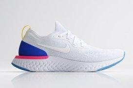 Nike Running Epic React blanca