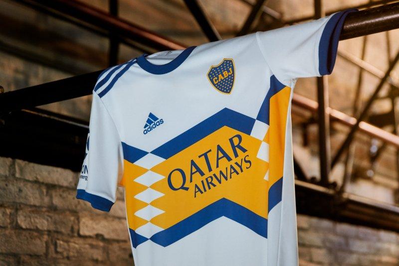 Camiseta de fútbol adidas Boca Jrs Home 2020