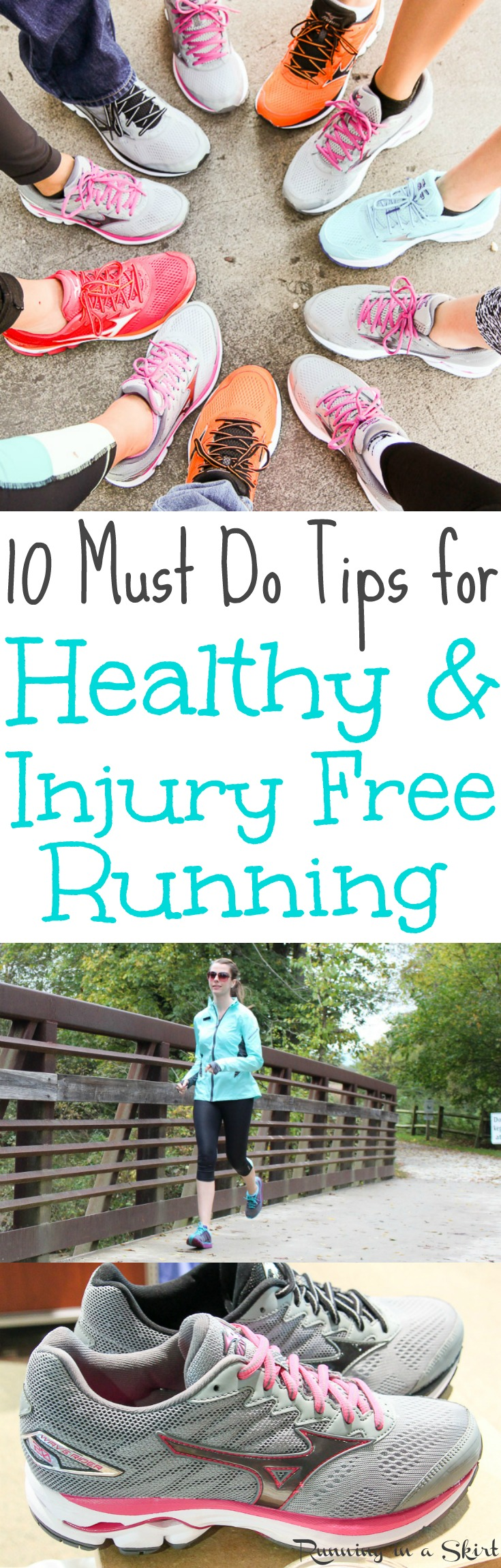 10 Must Do Tips for Healthy and Injury Free Running for life / Running in a Skirt