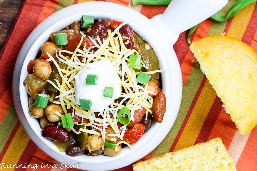 Crock Pot Award Winning Vegetarian Chili Recipe-78-7