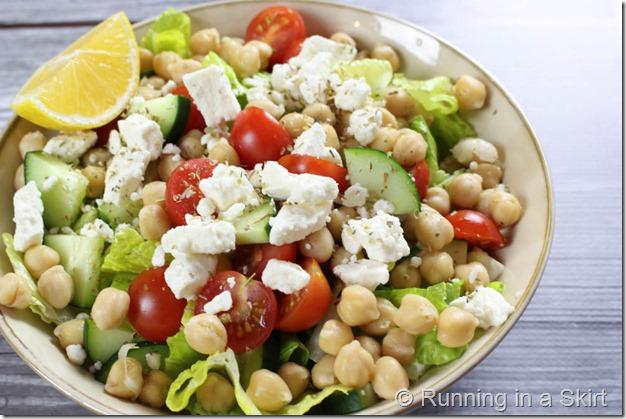 Mediterranean Chickpea Salad-9-2