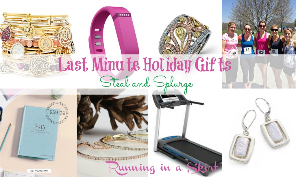 last minute gifts steal and splurge banner