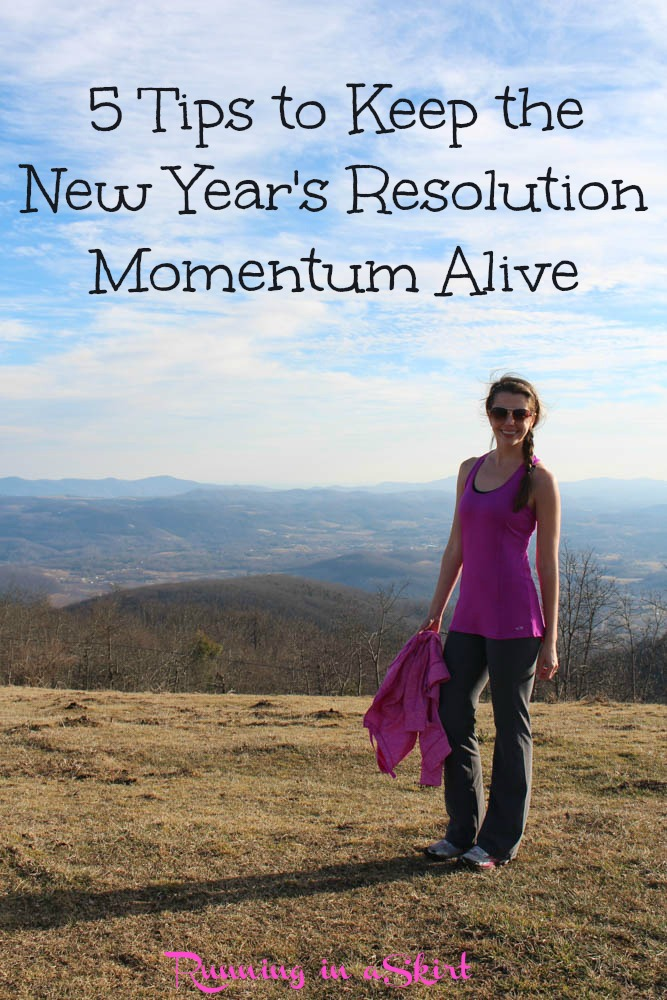 Keeping New Year's Resolution Momentum Alive