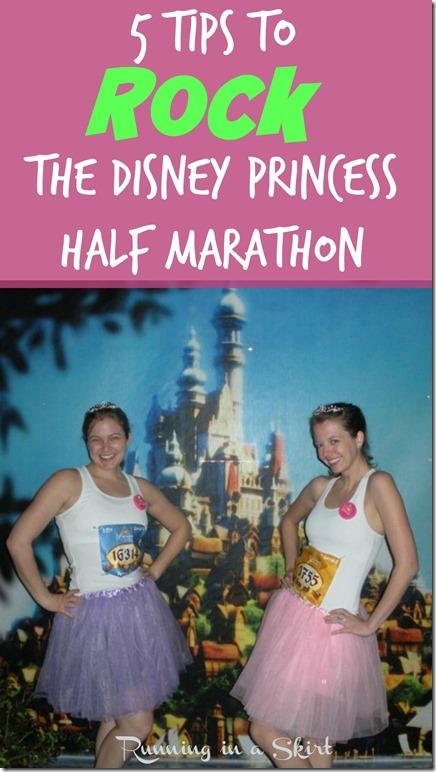 Disney Princess Marathon Tips Pin