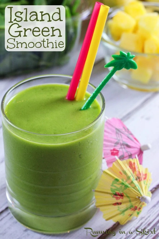 Island Green Smoothie pin