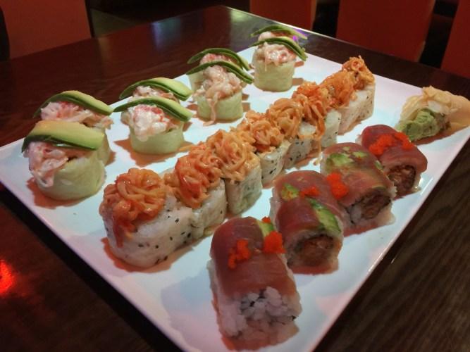 New Years Sushi