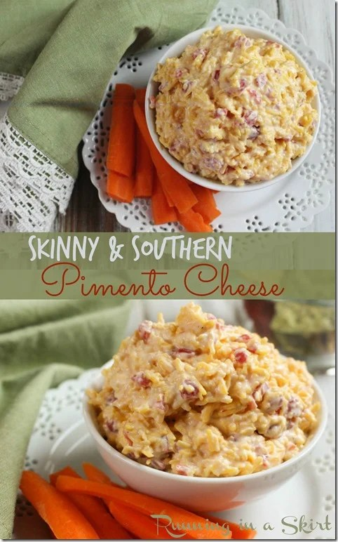 Skinny Homemade Pimento Cheese pin