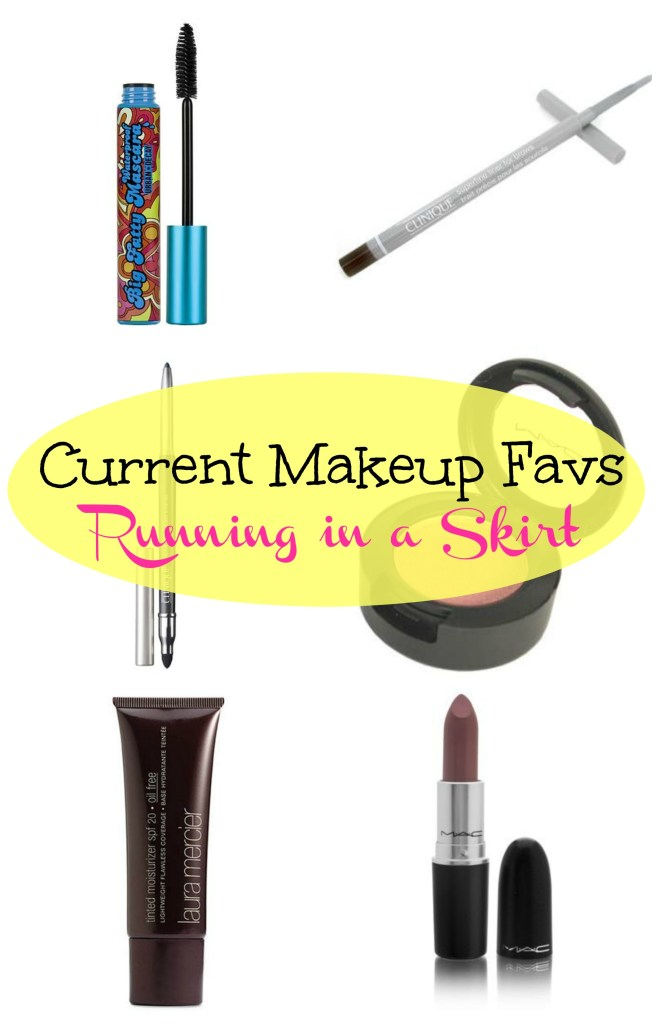 current makeup favs