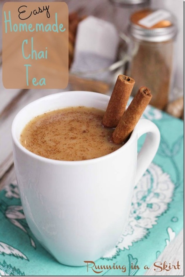 Easy Chai Tea Recipe Pin