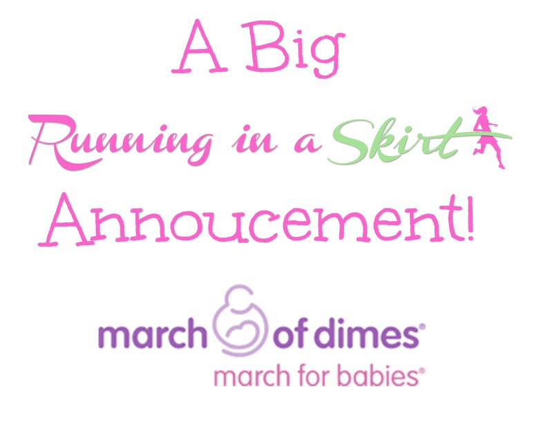 Julie Wunder March for Dimes 2015 Annoucement