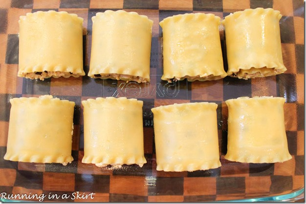 Mexican Lasagna Rollups | Running in a Skirt
