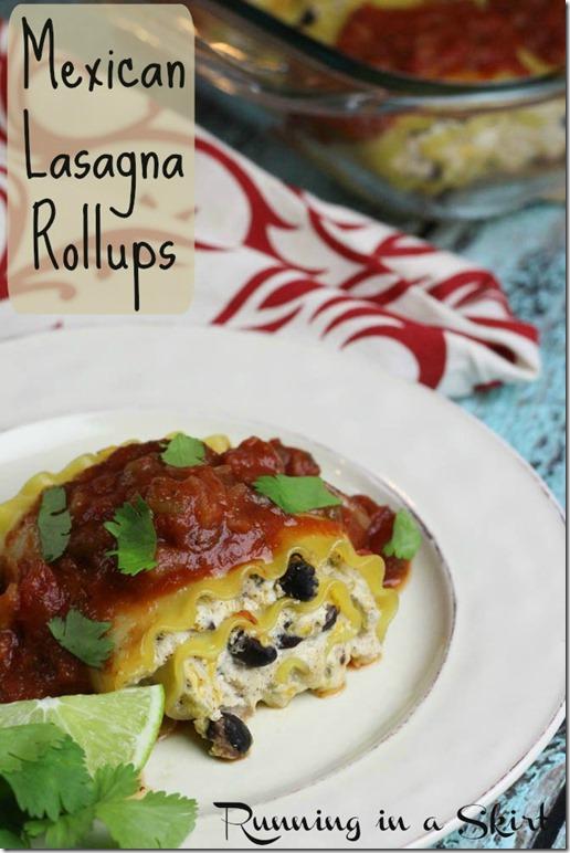 Vegetarian Mexican Lasagna Rollups pin2