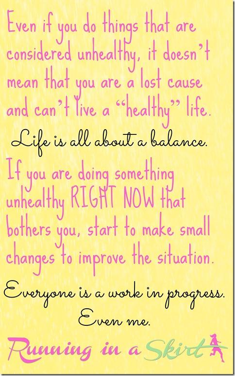healthy living tips pin