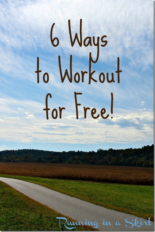 6 ways to workout for free