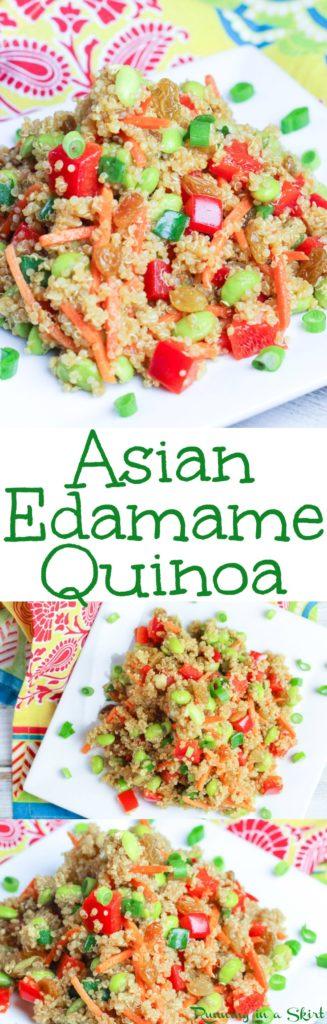 asian edamame quinoa