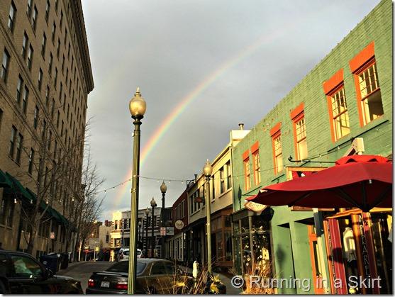 rainbow in asheville
