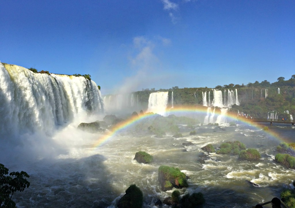 igauzu waterfall cell pic