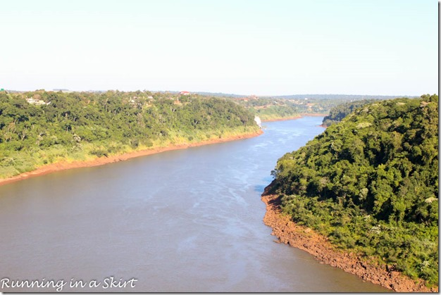 Brazil Argentina Paraguay Border