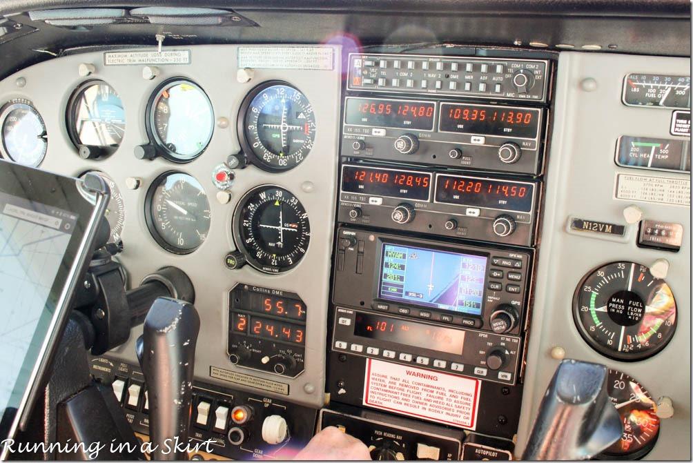 Cessna 210 Cockpit